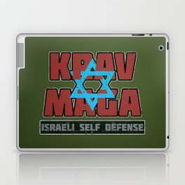 Israeli Krav Maga Magen David Laptop & iPad Skin