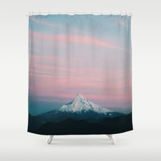Mount Hood III Shower Curtain