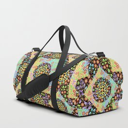 Filigree Floral Patchwork (printed) Duffle Bag