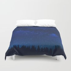 WATCHING THE STARS Duvet Cover