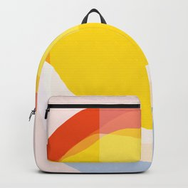 Tropical Sunny Day (Abstract) Backpack