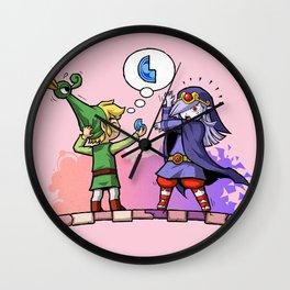 Legend of Zelda Vaati and Link T-Shirt Wall Clock