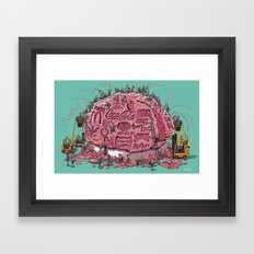 Branded Framed Art Print