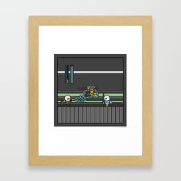 Mega Boss Battles - Dooku vs. Asajj & Savage Framed Art Print