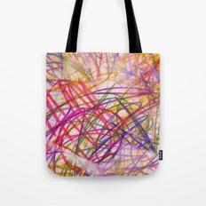 Ilaria Multi Scribble Tote Bag