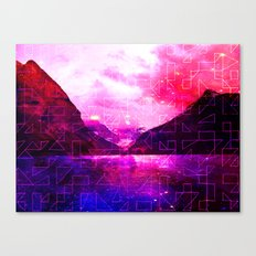 Spaced Louise Canvas Print