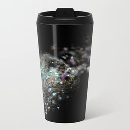 Rainbow Bubbles Metal Travel Mug