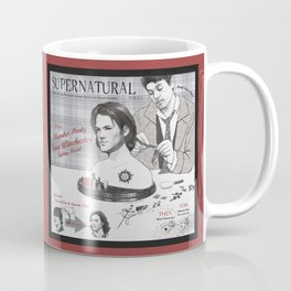 Supernatural Toy Co. Slumber Party Sam Winchester Styling Head Coffee Mug