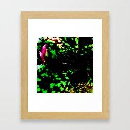 Fluro Brom Framed Art Print