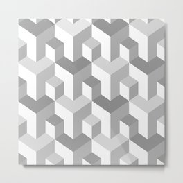 Seamless abstract pattern Metal Print