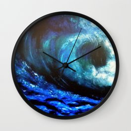 Mesmerizing Waves Wall Clock