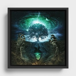 Tree of Life (Reprise) Framed Canvas