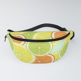 Citrus Fruits Mint Green Fanny Pack