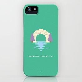 Arch Rock iPhone Case