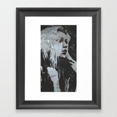 'in the mourn Framed Art Print