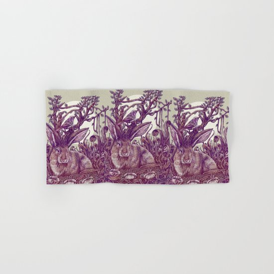 Rabbit Horns Hand & Bath Towel