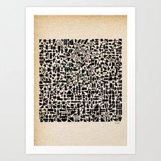 - micro - Art Print