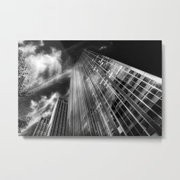 Towers and clouds Metal Print