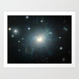 Dusty spiral galaxy Art Print