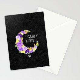 Crescent Bloom | Lavender and lemons  Stationery Cards