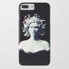 Medusa glitch iPhone Case
