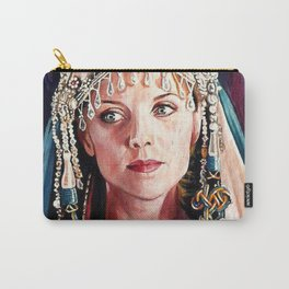 ACEO Stargate SG-1 Samantha Carter Amanda Tapping Sam USAF Carry-All Pouch