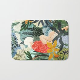 The Distracted Reader Bath Mat