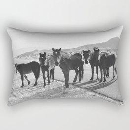 Cold Creek Horse Crew Rectangular Pillow