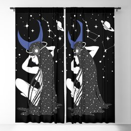 The Goddess of the Night Blackout Curtain
