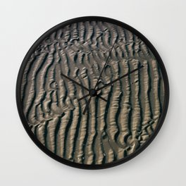 Sand Wave Graphic 4 Wall Clock