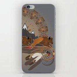 Native American Indian Buffalo Nation iPhone Skin