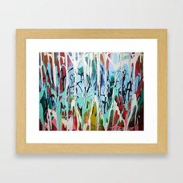 Paint Drip Framed Art Print