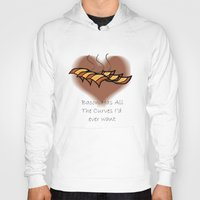 bacon Hoodies featuring Bacon  by BrasaPanda