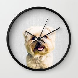 Dog - Colorful Wall Clock