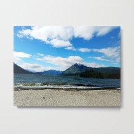 Windy Lake Metal Print