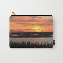 Sky Over The Marsh Carry-All Pouch