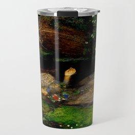 "John Everett Millais ""Ophelia"" Travel Mug"
