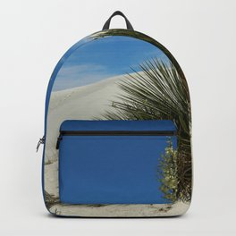 Soap Yucca In The White Sands Dunes Backpack