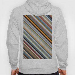 Nordic Stripes Pattern Horizontal Hoody