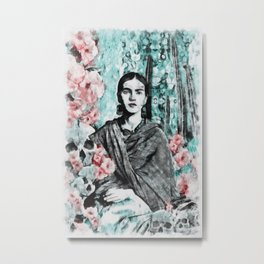 Frida Metal Print