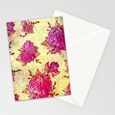 VINTAGE FLOWERS XIV - for iphone Stationery Cards