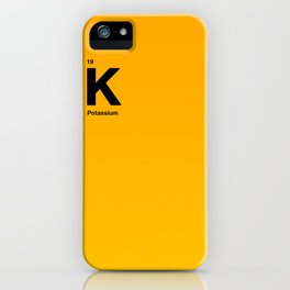 Potassium iPhone Case