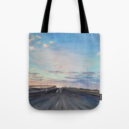 The way home_State Route 1 Tote Bag