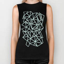 Ab Outline Thick Mint Biker Tank