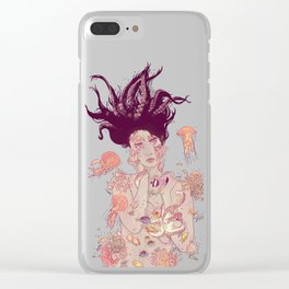 Abyss Lady Clear iPhone Case
