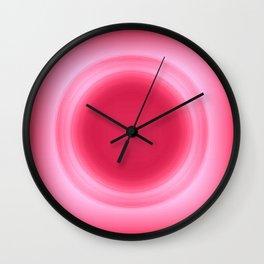 Bubblegum Pink Glow Wall Clock
