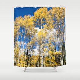 Colorado Aspens Shower Curtain