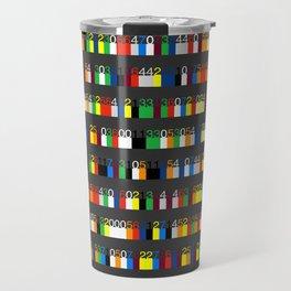 Color by Number: Pi Travel Mug