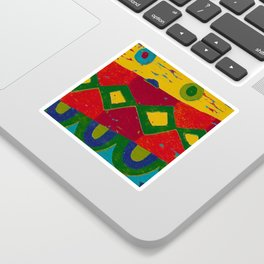 Reduction in colour Sticker