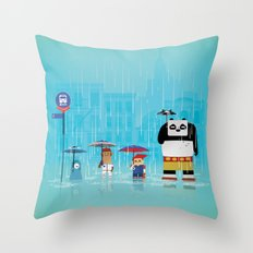 The Nick Yorkers in May Throw Pillow